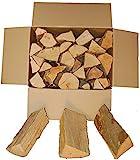 BUCHE Kaminholz, Brennholz 20Kg -gut zu tragen-, Feuerholz, Grillholz, ofenfertig, 25cm...