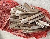 Anzündholz Eiche 28 kg - Brennholz Anzünder für Grill, Ofen, Kamin, sehr trocken